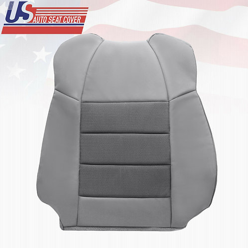 2003-2007 Ford F250 XLT Super-Cab X-Cab-Passenger Side top Cloth Seat Cover Gray