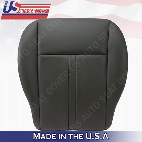 2005-2007 Jeep Grand Cherokee Driver  Bottom Leather cover black