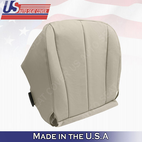 For 2007-2011 Toyota Camry Synth. Passenger Bottom Leather Seat Cover Tan