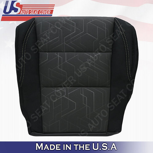 For 2016-2020 Toyota Tacoma SR5 Passenger Bottom Cloth Seat Cover Black