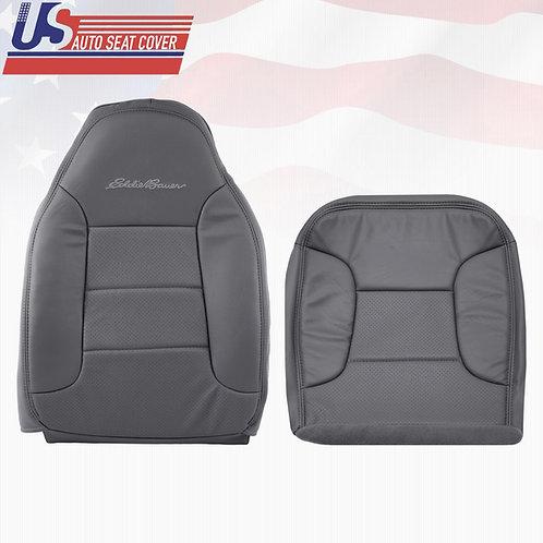 1992-1996 Ford Bronco Eddie Bauer Bottom-Top Lean Back Seat Cover Dark Graphite