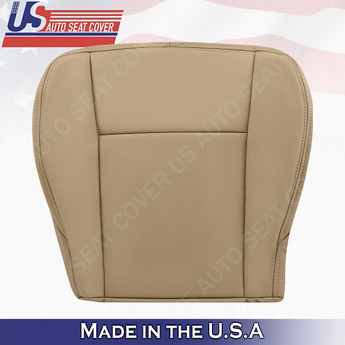 2003 to 2007 Cadillac CTS Passenger Bottom Leather seat Cover Tan