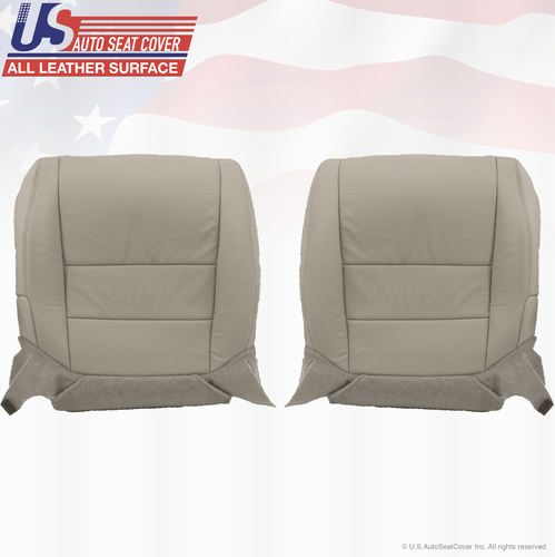 2008 Acura TL Driver & Passenger Bottom Leather