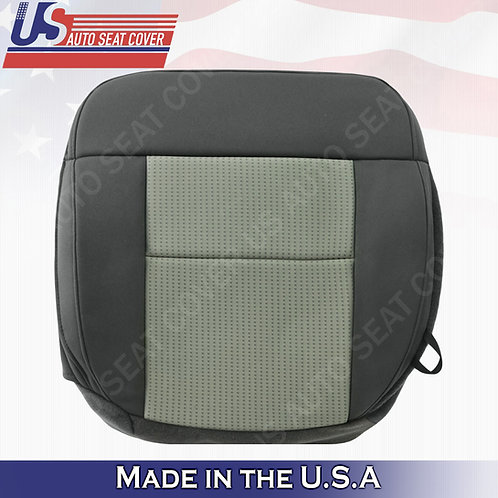 2004-2008 Ford F-150 Driver Bottom Cloth Seat Cover in 2-tone Gray