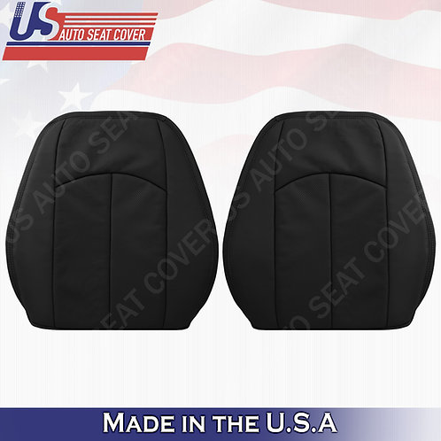 For 2003-2009 Mercedes-Benz E350 Tops Perforated Leather Seat Cover Black