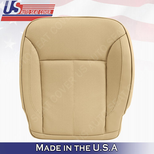 For 2007-2012 Mercedes Benz GL450 Passenger Bottom Perforated Leather Cover Tan
