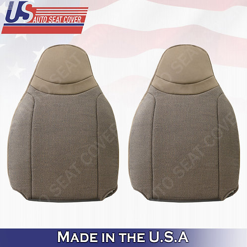 2000-2002 Ford Ranger XL XLT Driver & Passenger top cloth seat cover in T