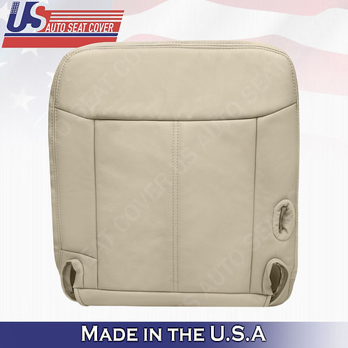 2003 - 2011 Lincoln Town Car Driver Bottom Leather seat cover tan