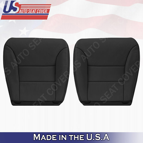 Fits 2005 -2010 Honda Odyssey Driver & Passenger Bottom Leather Black