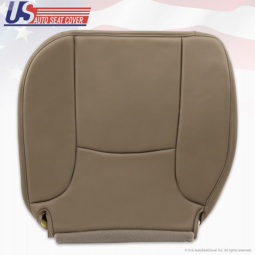 2002-2005 Dodge Ram Driver Bottom leather seat cover in Tan