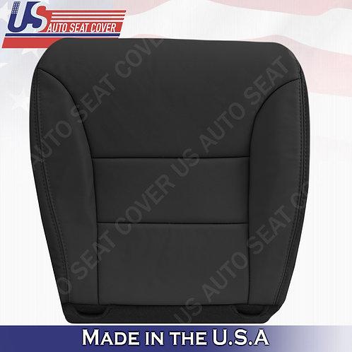 For 2005 - 2010 Honda Odyssey Passenger Bottom Leather Seat Cover Black