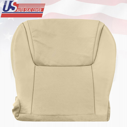 2008-2015 Lexus Lx570 Driver Bottom Perforated Leather Seat Cover Tan