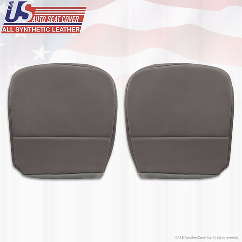 2008-2010 Ford F250 F350 F450 F550 XL Bottoms Vinyl Seat Cover Gray