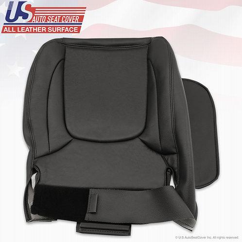 2003-2005 Dodge Ram 1500 Passenger Bottom Leather seat cover in Black