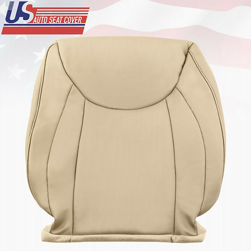 Passenger top Leather Seat Cover Tan For 2001 - 2006 Lexus LS430