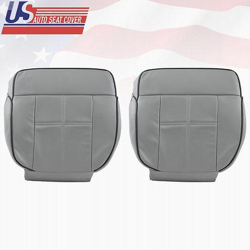 2006-2008 Lincoln Mark LT- Driver & Passenger Bottom Leather Cover GRAY
