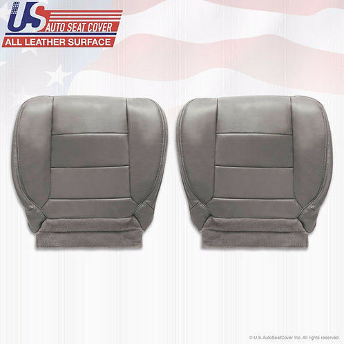 2002-2007 Ford F250 F350 Lariat EXTENDED CAB Bottoms Leather Cover Gray