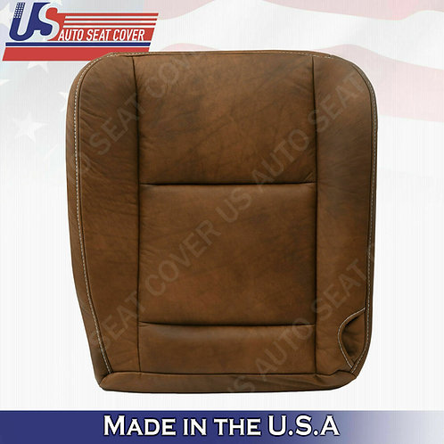Driver Bottom Leather Seat Cover 2005 2006 2007 Ford F250 F350 F-250 King Ranch