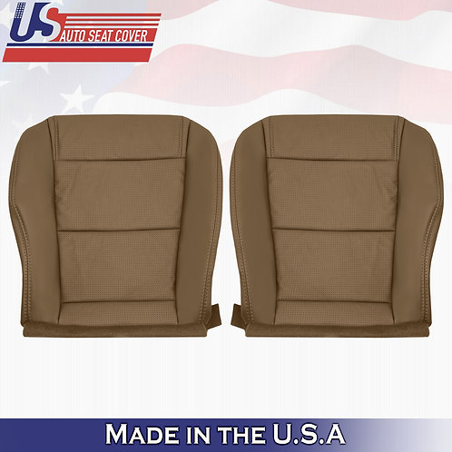 2001-2006 Acura MDX Bottoms Perforated Leather Seat Cover SADDLE TAN