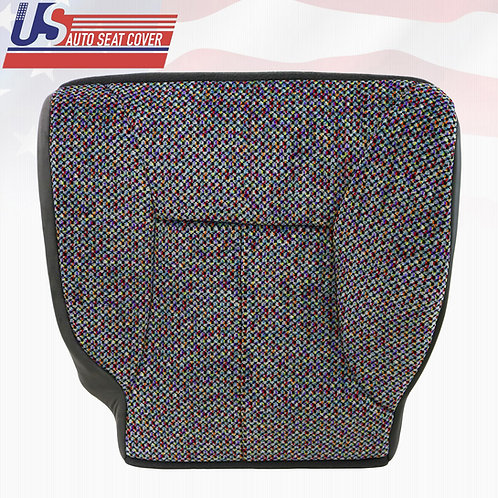 1998-2002 Dodge Ram 1500 2500 3500 Slt Driver Bottom Cloth Seat Cover Agate