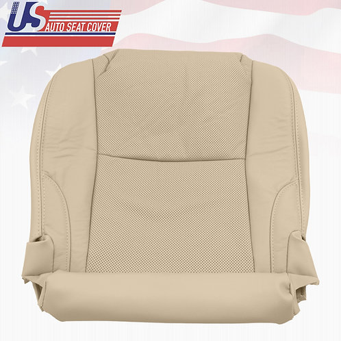 2006-2013 Lexus IS250 IS350 Passenger Bottom Seat Cover Perforated Leather (Tan)