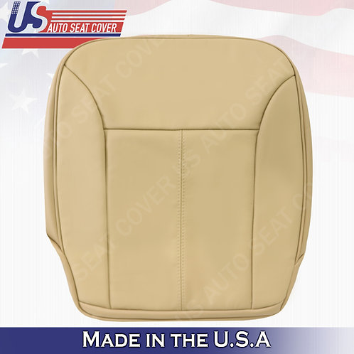 For 2007-2012 Mercedes Benz GL350 Driver Bottom Perforated Leather Cover Tan