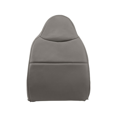 2008 2009 2010 Ford F550 XL Work Truck Driver Backrest Vinyl Seat Cover Gray
