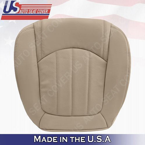 2008 -2012 Buick Enclave 1XL Passenger Bottom Perforated Leather Seat Cover Tan