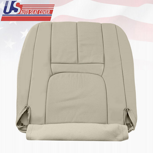 1999-2000 Cadillac Escalade Passenger Bottom Perforated Leather Seat cover Tan