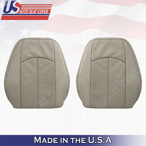 For 2003-2009 Mercedes-Benz E350 Tops Perforated Leather Seat Cover Ash Gray