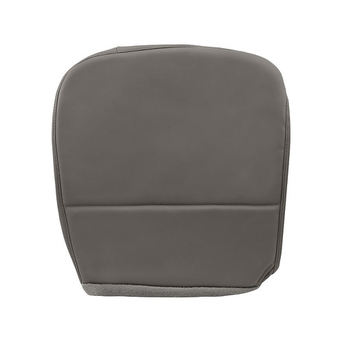 2008 2009 2010 Ford F550 XL Work Truck Driver Bottom Vinyl Seat Cover GRAY