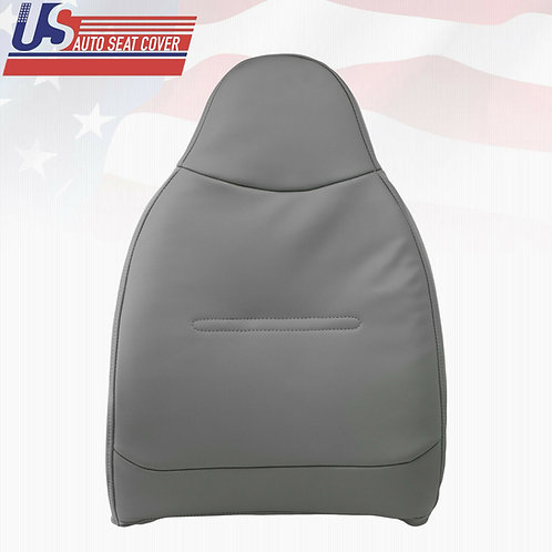 2002 to 2007 Ford F250 F350 F450 F550 XL Top Replacement Vinyl Seat Cover Gray