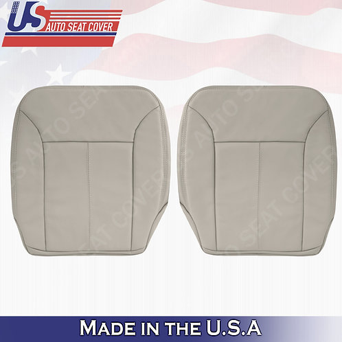 For 2007-2012 Mercedes Benz GL320 Front Bottoms Leather Cove Gray W/ STITCHING