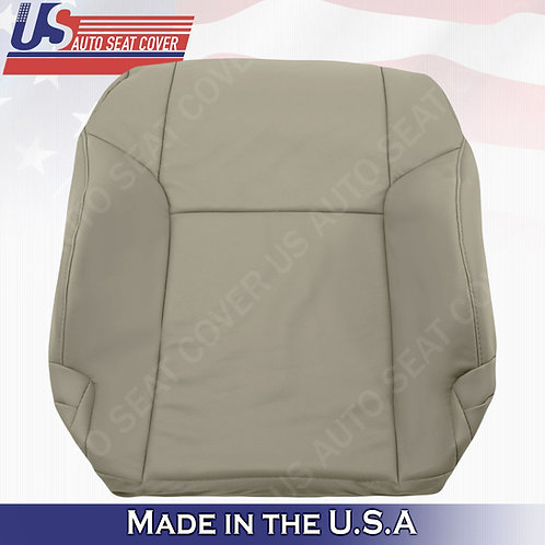 For 2003 -2009 Toyota 4Runner Driver Top leather seat cover Taupe