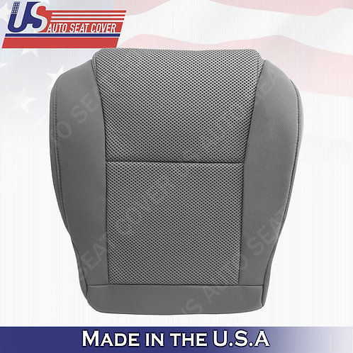 For 2005-2008 Toyota Tacoma Passenger Bottom Cloth seat cover Gray
