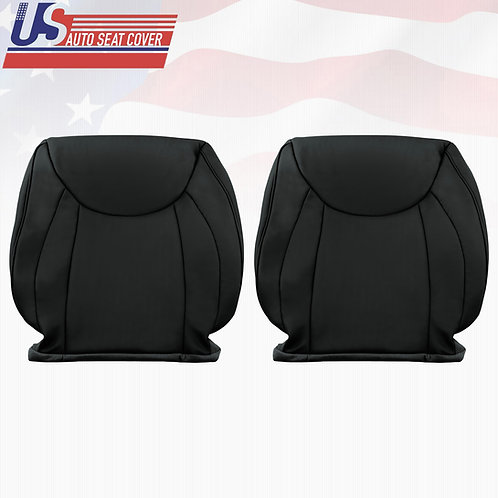 2001- 2006 Lexus LS430 Driver & Passenger Top Leather Seat Cover in Black