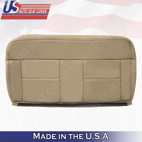 2004-2007 Ford F150 Lariat REAR Driver Bottom Leather Tan Replacement