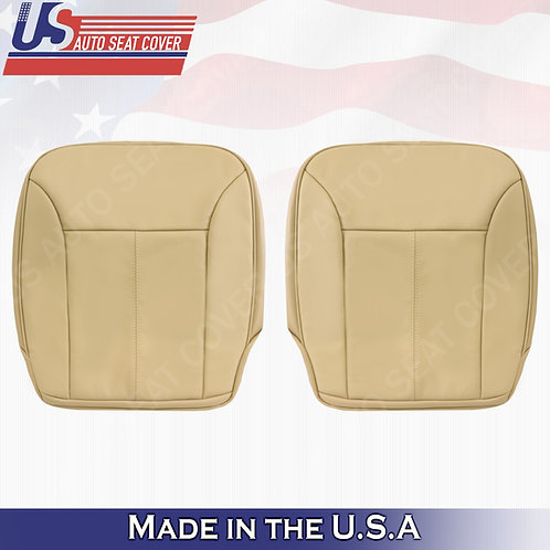 For 2007-2012 Mercedes Benz GL350 Bottoms Leather Seat Cover Tan