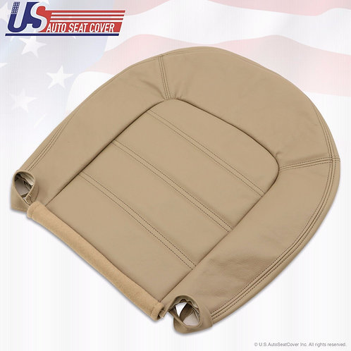 2002-2005 Ford Explorer XLT Driver Bottom Leather Seat Cover In shade Tan