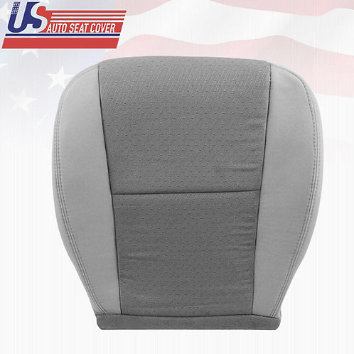 2007-2014 Chevy Silverado Passenger Bottom Replacement CLOTH Seat Cover 2Tone