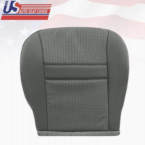 2006 2007 2008 Dodge Ram 1500 PASSENGER Bottom Cloth Seat Cover Med Slate Gray