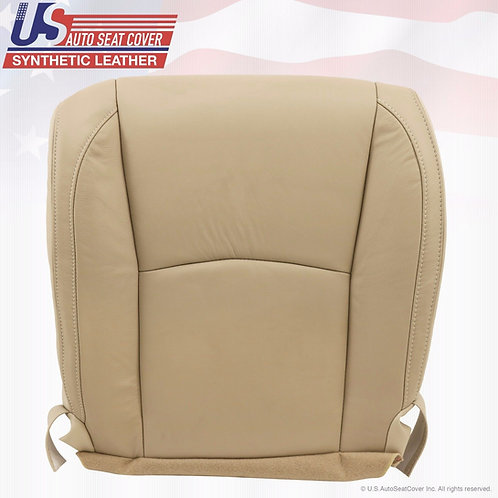 2004-2009 LEXUS RX350 DRIVER BOTTOM LEATHER SEAT COVER LIGHT TAN