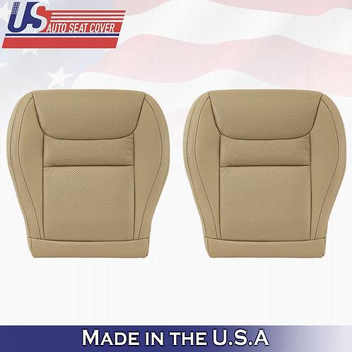 2001-2003 Toyota Highlander Driver & Passenger Bottom Perforated Leather Tan