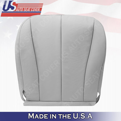 For 2007-2011 Toyota Camry Passenger Bottom Leather Seat Cover Gray