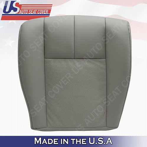 2005-2011 Cadillac STS Driver Bottom Perforated Seat Cover Gray