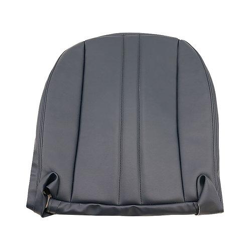 2003-2016 Chevy Express Cargo Van Driver Side Bottom Vinyl Seat Cover Black