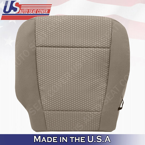 2015-2019 Ford F-150 XLT Driver Bottom Cloth seat cover replacement in Tan