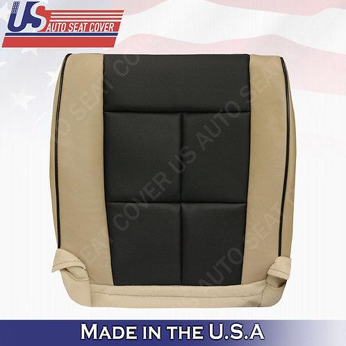 2011-2014 Lincoln Navigator Driver Bottom Perforated Cover 2tone Tan black