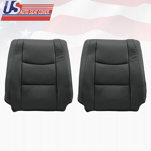copy of 2003-2009 Lexus GX470 Driver Lean Back Leather replacement in black