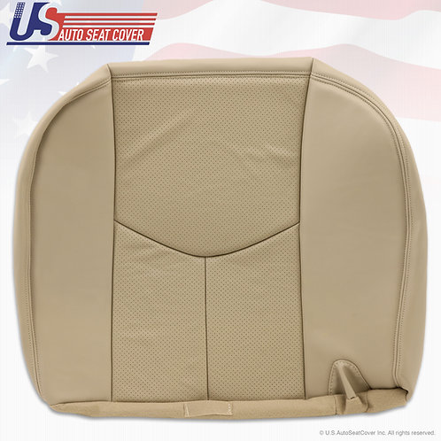 2003 to 2006 Cadillac Escalade Second Row Bottom Perforated, Light Tan